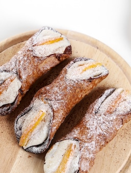 Leckere cannoli