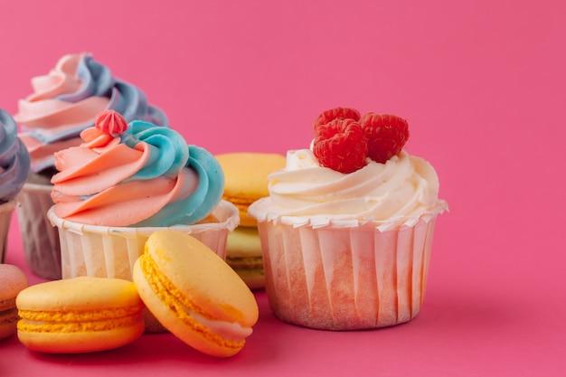 Leckere cupcakes süßigkeiten