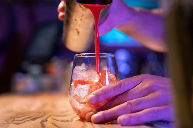 Leckere drinks ganz nah