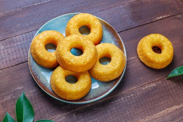 Leckere einfache donuts