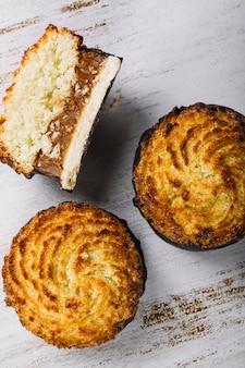 Leckere frische mini-kuchen