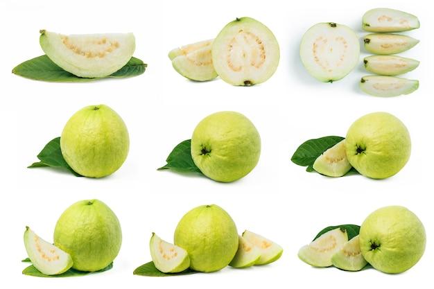 Leckere früchte in verschiedenen formen