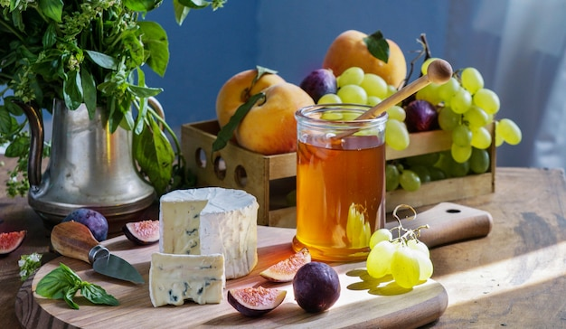 Leckere gourmet-käse dorblu