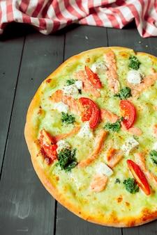 Leckere italienische pizza