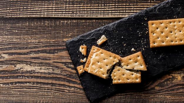 Leckere kekse liegen flach