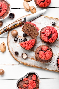 Leckere muffins oder cupcakes