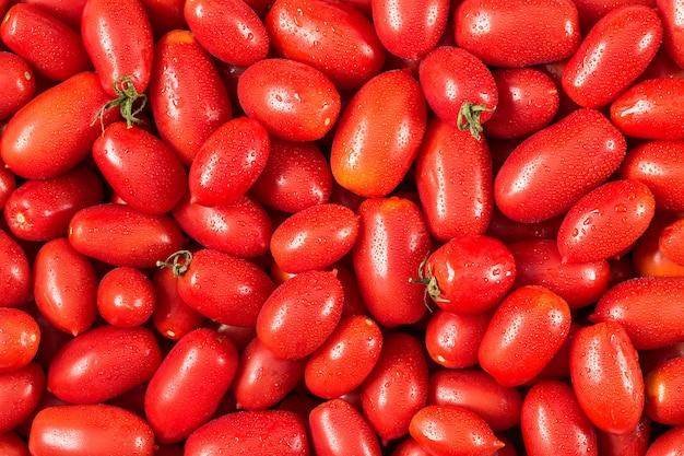 Leckere rote tomaten.