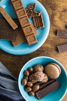 Leckere schokoladenkomposition
