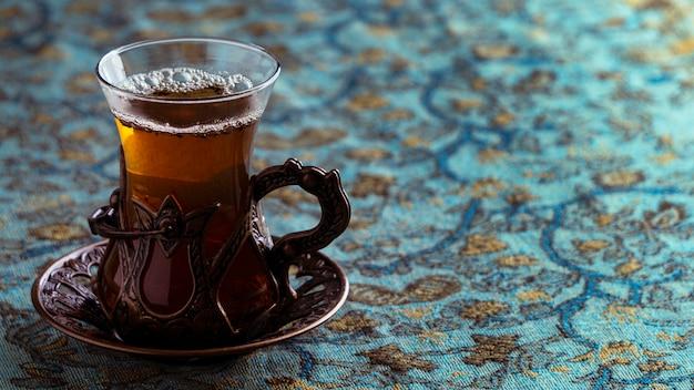 Leckere teetasse auf teller Kostenlose Fotos