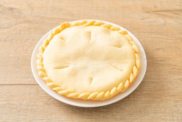 Leckere toddy palm pies auf weißem teller