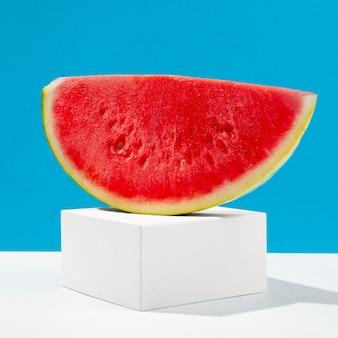 Leckere wassermelonenscheibe
