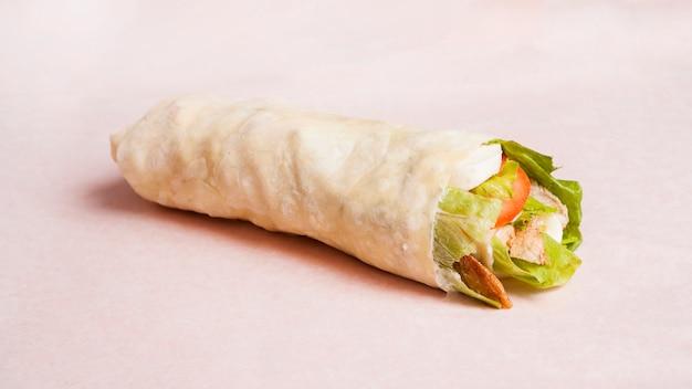 Leckerer burrito