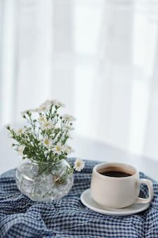 Leckerer schwarzer kaffee