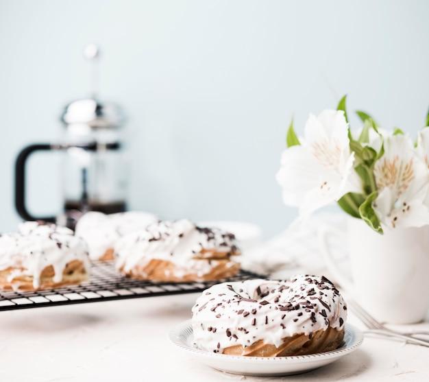 Leckeres donuts arrangement