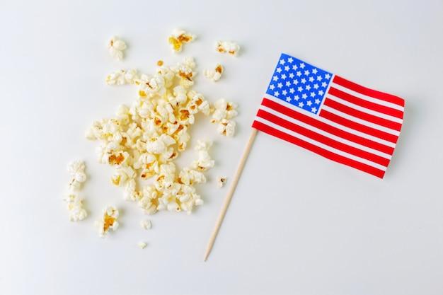 Leckeres gesalzenes popcorn