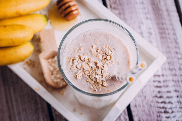 Leckeres gesundes frühstück oder snack
