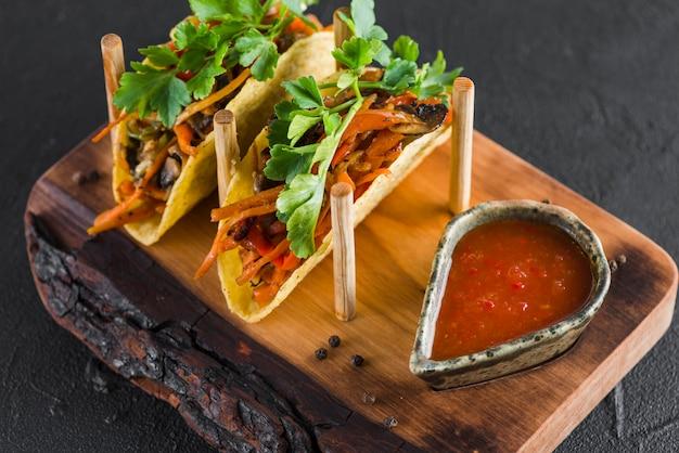 Leckeres mexikanisches essen
