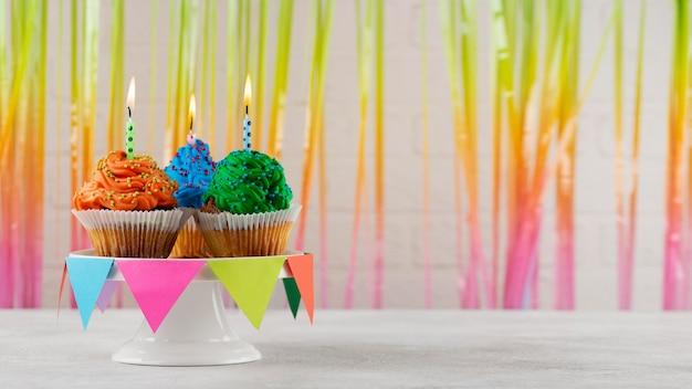 Leckeres party-cupcake-arrangement