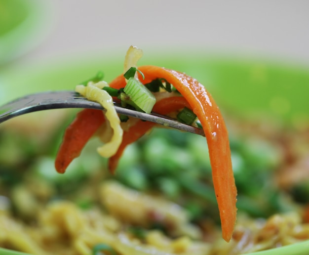 Leckeres thailändisches essen
