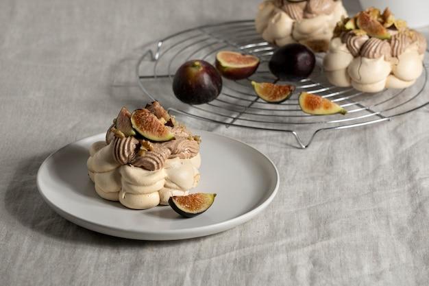 Leckeres traditionelles dessertarrangement