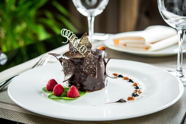 Leckeres und schönes dessert