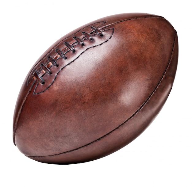 Leder vintage fußball