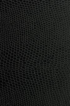 Lederne hintergrundbeschaffenheit der schwarzen schlange