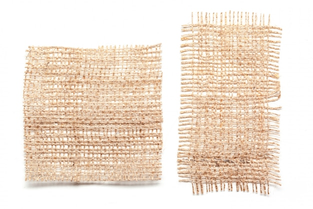 Lederne weibliche handtasche getrennt auf weiß