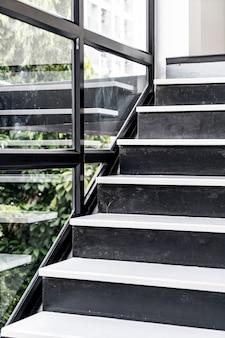 Leere architektur der treppe design
