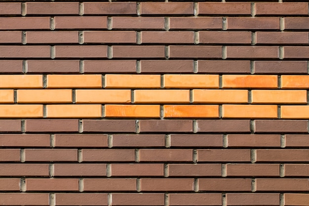 Leere backsteinmauer textur.