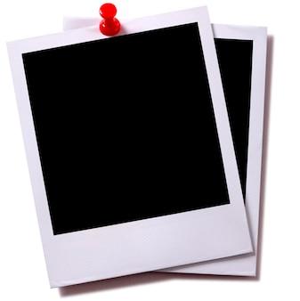 Leere fotografie papier