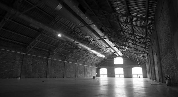 Leere hangar