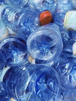 Leere plastikflasche, globale erwärmung