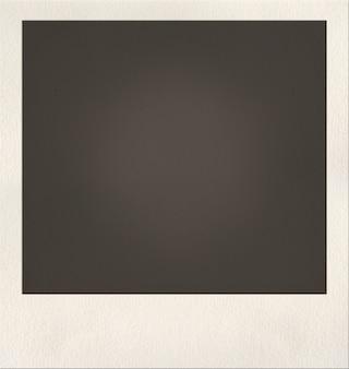 Leere polaroid-schuss