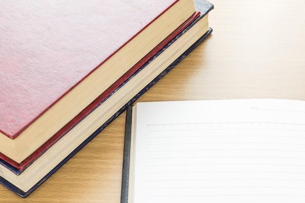 Leere seite des notebooks öffnen