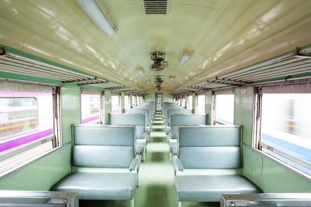 Leere sitzlokomotive