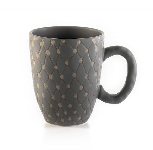 Leere tasse kaffee oder eine tasse