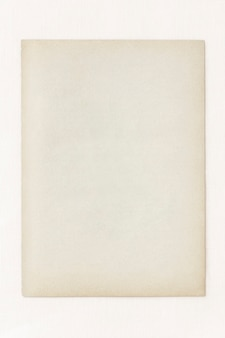 Leere vintage bastelpapier-vorlage