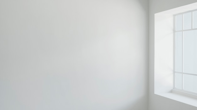 Leere wand im wohnzimmer