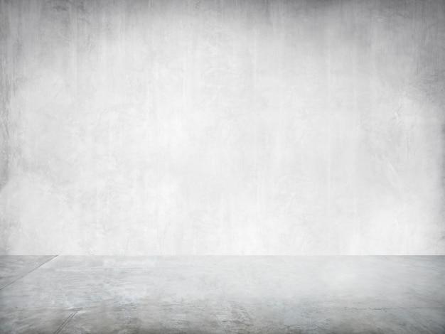 Leere weiße industrielle innenwand für einen kopien-raum