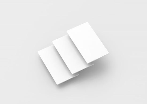 Leere weiße rechtecke für das website-design
