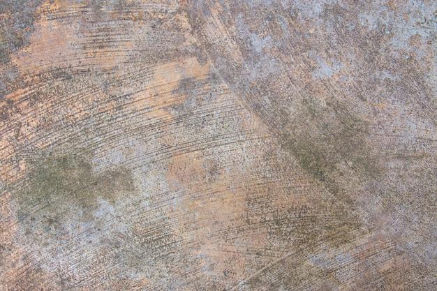 Leere zementbeschaffenheit auf boden- und wandhintergrund.