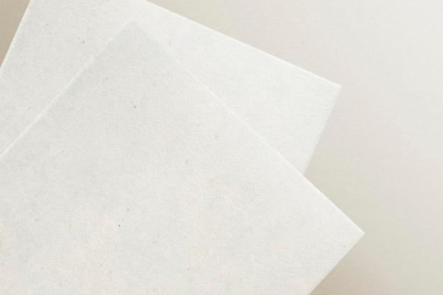 Leerer briefkopf für corporate identity design