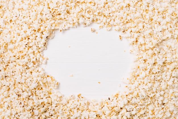 Leerer fleck in popcorn
