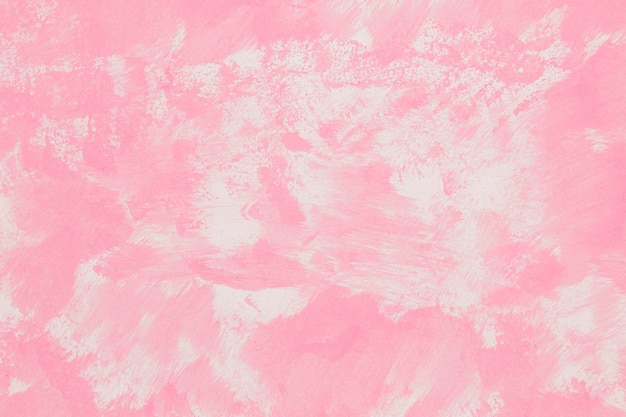 Leerer monochromatischer rosa gemalter hintergrund