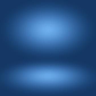 Leerer raum des abstrakten hintergrunds des blauen gradienten