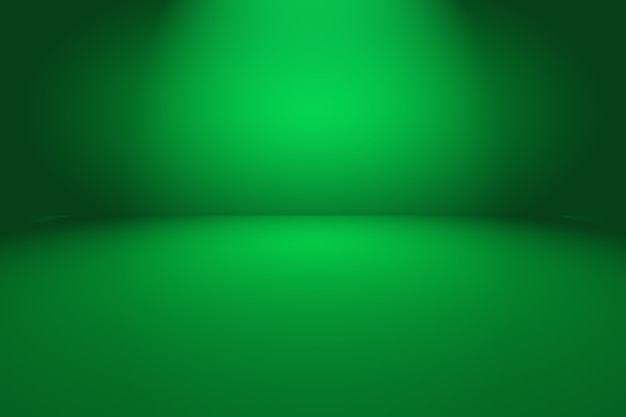 Leerer raum des abstrakten hintergrunds des grünen gradienten