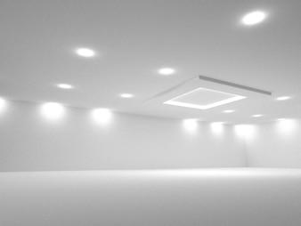 Leerer Raum, Wiedergabe 3D