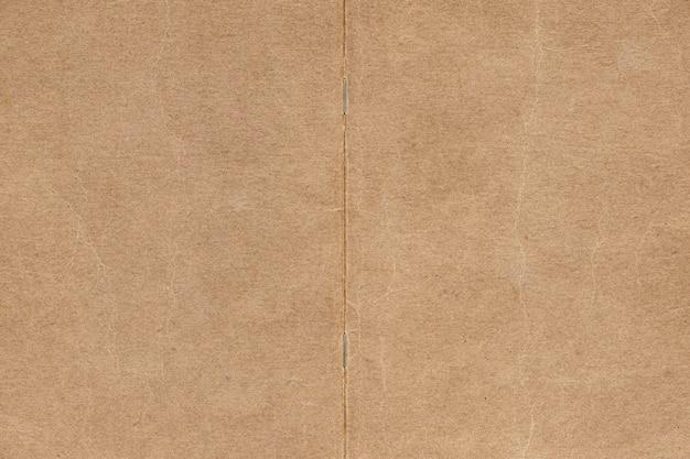 Leerer strukturierter hintergrund aus braunem papier