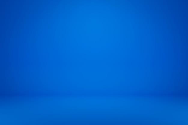 Leeres blaues display auf lebendigem sommerhintergrund mit minimalem stil. leerer ständer zum anzeigen des produkts. 3d-rendering.